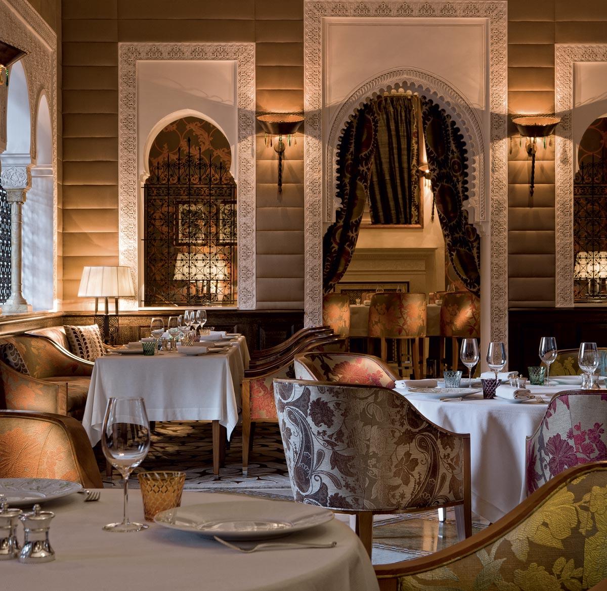 La Table royal mansour un lieu de délices à toute heure